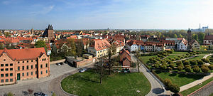 Delitzsch - View over old town