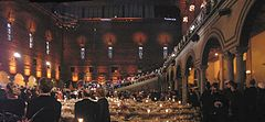 Panoramic Shot Nobel Banquet 2005.jpg