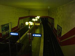 Bobigny – Pantin – Raymond Queneau (Paris Métro) - Image: Pantin Queneau vuequais