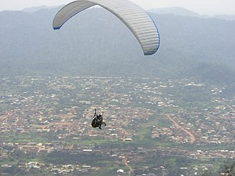 Nkawkaw - Paragliding in Nkawkaw