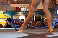 Paris - Salon de la photo 2011 - Stand Lumix - gymnaste 01.jpg