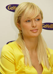 Paris Hilton in Munich 2005