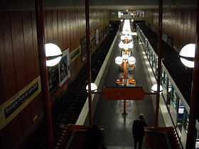 Image illustrative de l'article Boulogne - Pont de Saint-Cloud (métro de Paris)