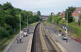 Parson Street railway station Railway station in Bristol, England