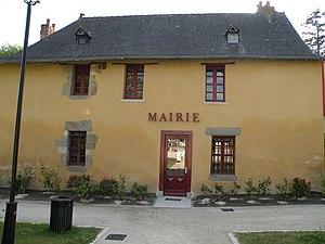 Parthenay-de-Bretagne - The town hall of Parthenay-de-Bretagne