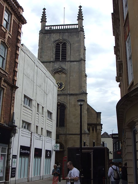 File:Partially obstructed church, Worcester, England - DSCF0713.JPG