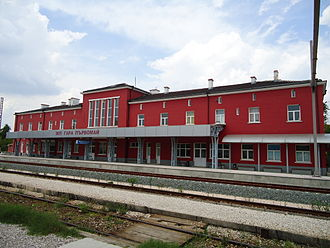 Parvomay - Parvomay Station during renovations 200