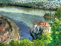 Passau Confluence of the Ilz, Danube, and Inn Rivers.jpg