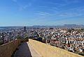 Passeig de la muralla oest i Alacant.JPG