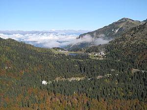 Naßfeld Pass - Pass height