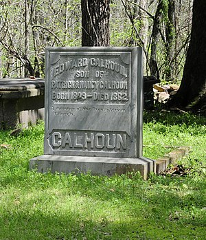National Register of Historic Places listings in Abbeville County, South Carolina - Image: Patrick Calhoun Family Cemetery