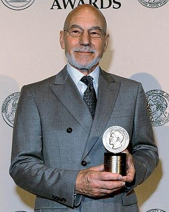 Patrick Stewart - Stewart at the 71st Annual Peabody Awards Luncheon 2012