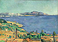 Paul Cezanne, The Gulf of Marseilles Seen from L'Estaque, c1885.jpg