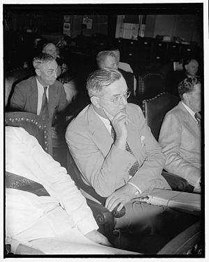 Paul G. Blazer - Blazer testifies before the House Judiciary Committee on June 23, 1939