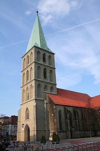 Hamm - Pauluskirche former St.Georg, main church of Hamm