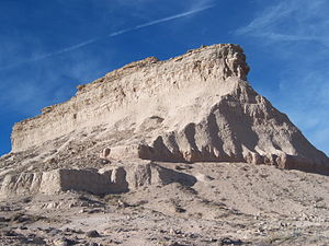 Pawnee Buttes - Image: Pawnee Butte (West)