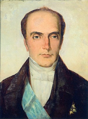 History of the Empire of Brazil - Pedro de Araújo Lima (Marquis of Olinda), regent and founder of the Conservative Party, of the Progressist League and of the third Liberal Party.