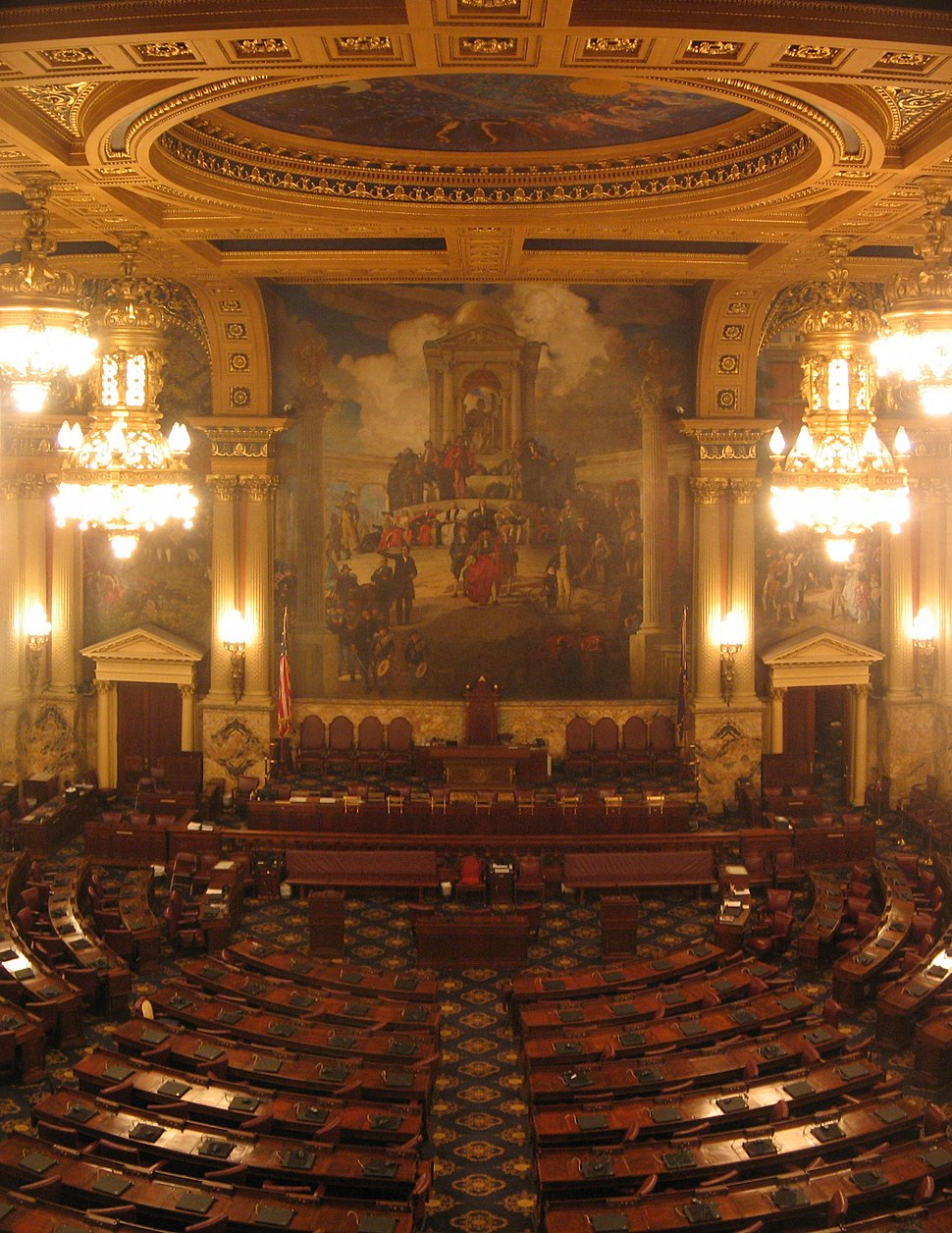Pennsylvania State Capitol House Chamber