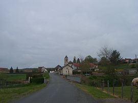 A general view of Perrigny-sur-Loire