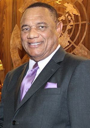 Prime Minister of the Bahamas - Image: Perry Christie 2013 (cropped)