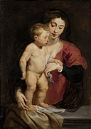 Peter Paul Rubens - Madonna and Child - 1929.6.91 - Smithsonian American Art Museum.jpg