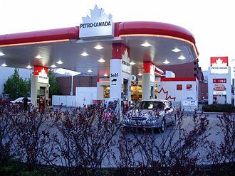 Petro-Canada - A Toronto Petro-Canada station in May 2008.