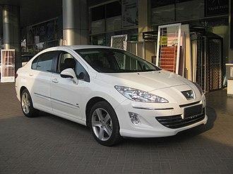 Peugeot 408 - 2013 Peugeot 408 2.0 (Asian version)