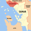 Ph locator samar calbayog.png