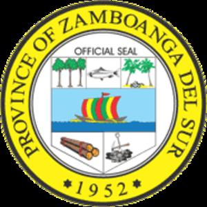 Zamboanga (province) - Image: Ph seal zamboanga del sur
