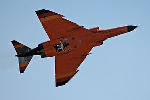 """Dog-tooth - Clearly visible near the wing tip is the jagged """"dog-tooth"""" leading edge"""