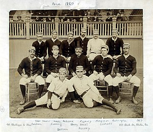 Philadelphia Phillies all-time roster - Image: Philadelphia Quakers 1887