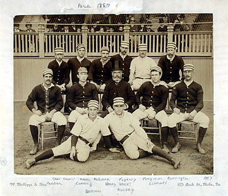 1887 Philadelphia Quakers season - Philadelphia Quakers, 1887