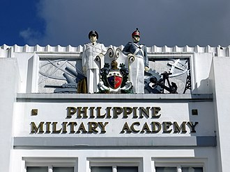 Philippine Military Academy - Image: Philippine Military Academy entrance detail