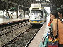 Manila light rail transit system line 1 wikipedia central terminal station malvernweather Choice Image