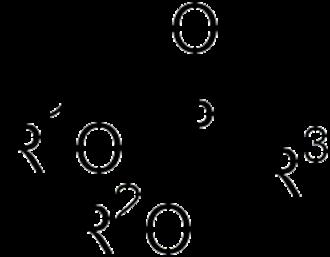 Phosphonate - General ester of phosphonic acid.