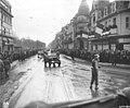 Photograph of Frenchmen Greeting Convoys of the 28th Infantry Division - NARA - 6927427.jpg