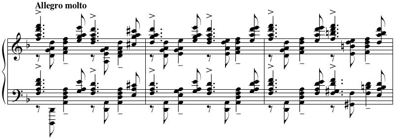 Piano Concerto 3 Cadenza