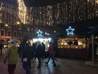 Christmas market - Image: Pic of Davidsbroen