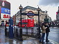 Piccadilly Circus stn Piccadilly north entrance.JPG