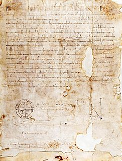 <i>Pie postulatio voluntatis</i> Recognized the establishment of the Knights Hospitaller