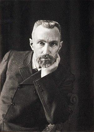 Pierre Curie - Image: Pierre Curie by Dujardin c 1906
