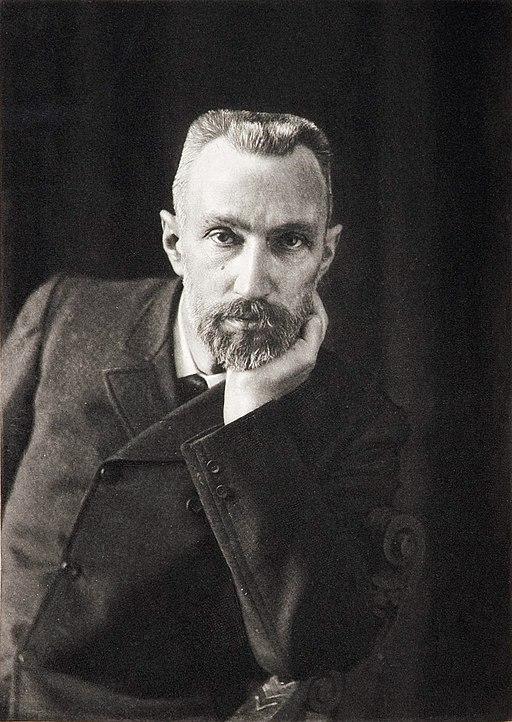 Pierre Curie by Dujardin c1906
