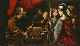 Pietro Paolini - Achilles among the Daughters of Lycomedes