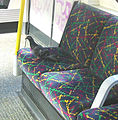 Pigeon on Tube Seat - Hammersmith & City Line.jpg