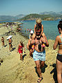 Piggy-back riding (beach in Turkey).jpg
