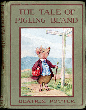 The Tale of Pigling Bland - First edition cover