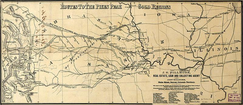 File Pikes Peak Gold Rush Map01 Jpg Wikimedia Commons