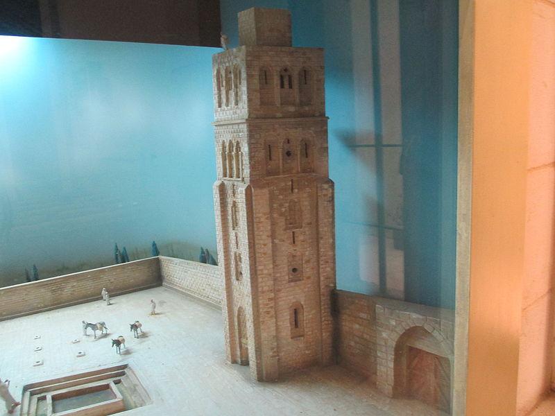 דגם המגדל הלבן במוזיאון רמלה