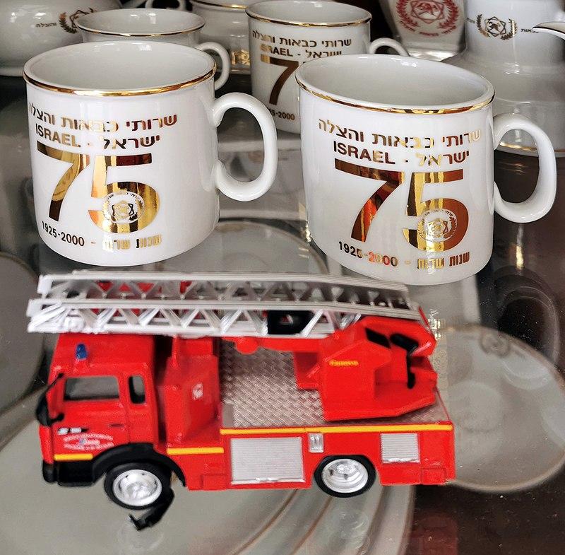 ספלי קפה מכבי אש