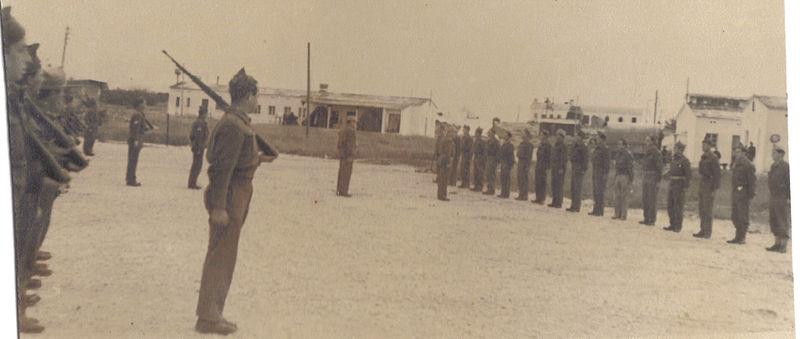 גדוד 12- ברק של חטיבת גולני, במסדר